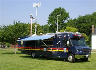 Command Vehicle Safe Summer Day